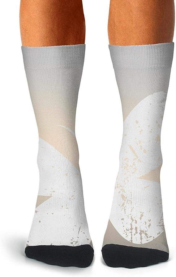 Womens//Girls Card Shark Santa Casual Socks Dresses Over The Knee High Socks 23.6