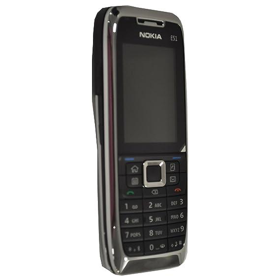 amazon com nokia e51 1 with camera 130mb factory unlocked 3g cell rh amazon com