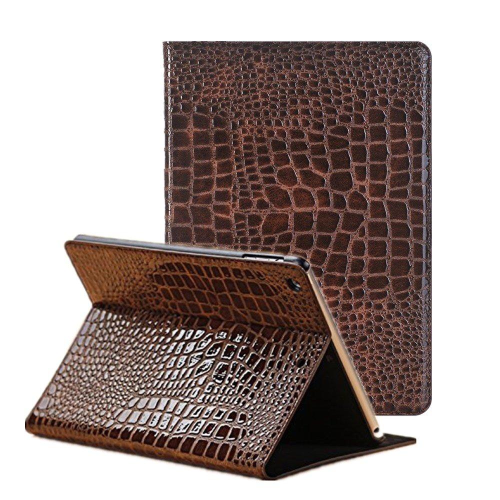 FuriGer iPad Mini 4 Case [Corner Protection], [Multi-Angle Viewing] Folio Smart Stand Protective Cover, Supports Auto Wake/Sleep for Apple iPad mini 4 -Brown