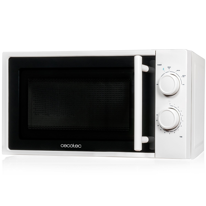 Microondas blanco, input 1200W, output 700W, 20 l, 6 niveles, Cecotec White product image