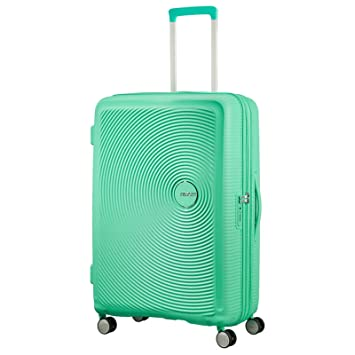 Valise cabine rigide American Tourister Soundbox 55 cm Deep Mint vert