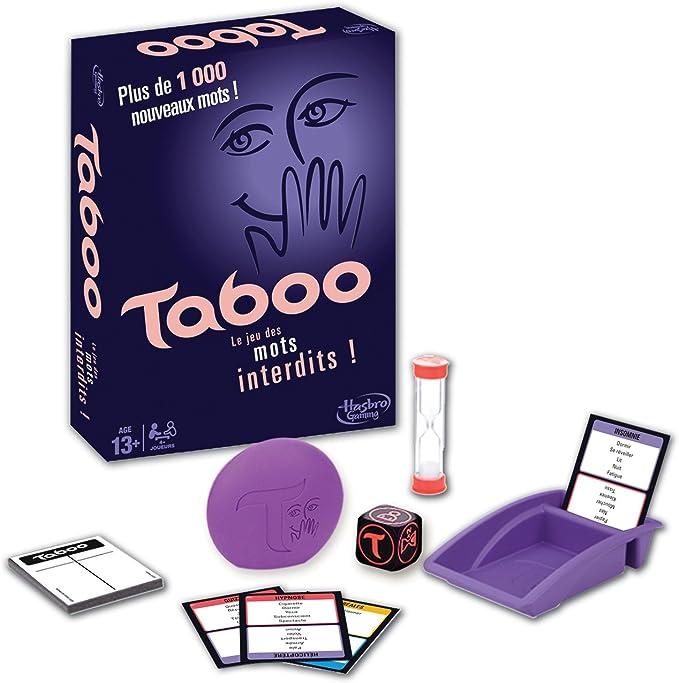 Hasbro Tabú - Juego de tablero (Multi), idioma - francés: Amazon.es: Juguetes y juegos