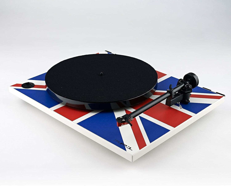 Rega RP1 Turntable Union Jack Edition with Performance Pack, [Importado de Reino Unido]: Amazon.es: Electrónica