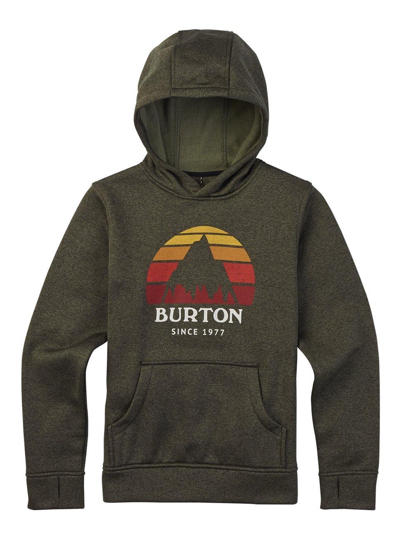 Burton Boys Oak Maglione con Cappuccio Felpa con Cappuccio BRRS5 #Burton