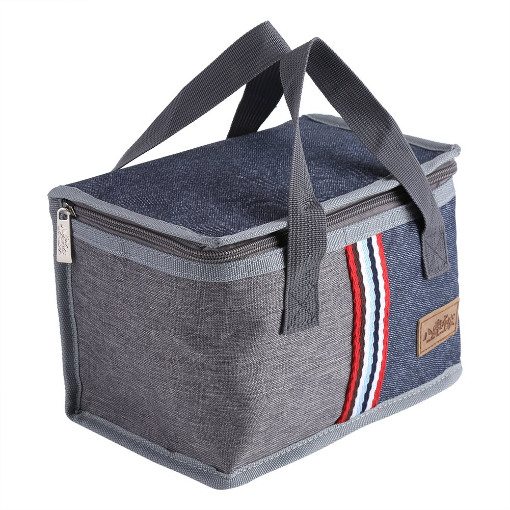 Insulated Lunch Bag, Portable Tote Thermal Cooler Lunch Travel Picnic Storage Food Box Bag Case for Men Women Adults Work Kids Zerodis
