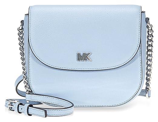 21bc865365ed Michael Kors Mott Crossbody Bag- Pale Blue: Amazon.co.uk: Clothing