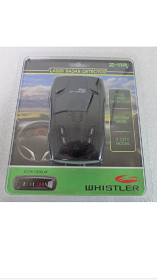 Whistler Z11-R Radar Laser detector police scanner speed trap