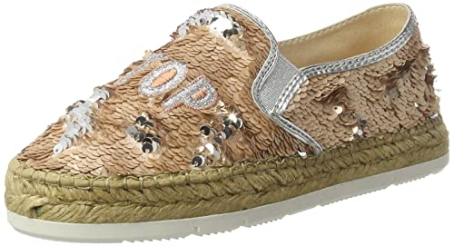 Macarena Alpargatas para Mujer, (Rosa Lentejuela Lepisma), 39 EU: Amazon.es: Zapatos y complementos