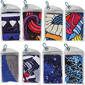 Cooling Towel Microfiber Towel Fast Drying - Super Absorbent - Ultra Compact Cooling Towel for Sports, Workout, Fitness, Gym, Yoga, Pilates, Travel, Camping