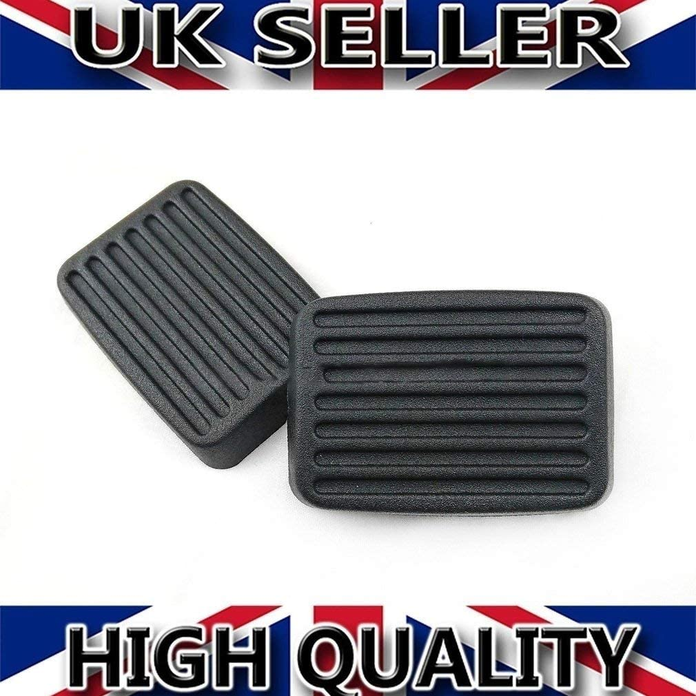 KinshopS 2x for Hyundai Accent Getz Elentra Excel Scoupe Brake Clutch Pedal Pad Rubbers