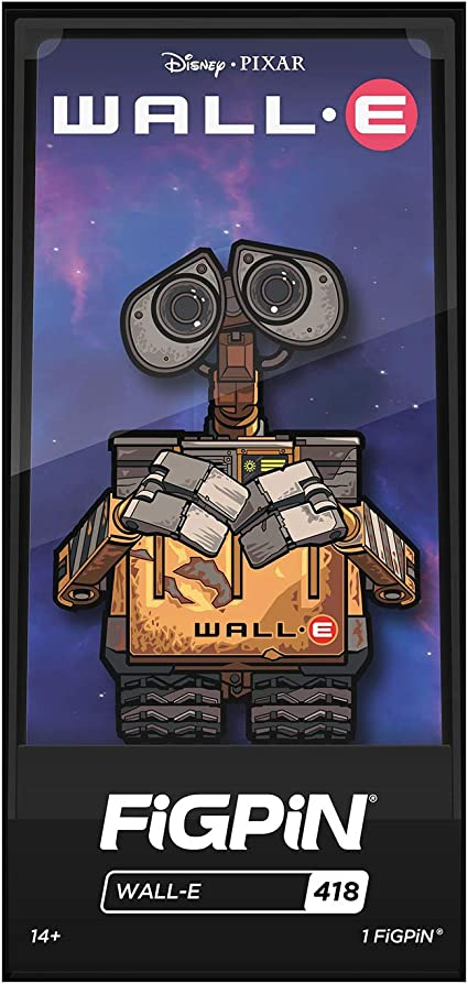 Figpin Disney Wall-E Collectible Pin #418 NEW IN STOCK