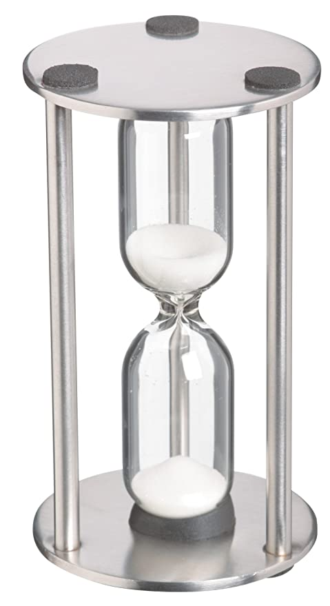 amazon com stainless steel traditional 3 minute timer by kitchen