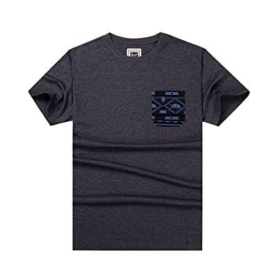 Beautiful Giant Performance Cotton Stretch Crew Neck T-Shirt