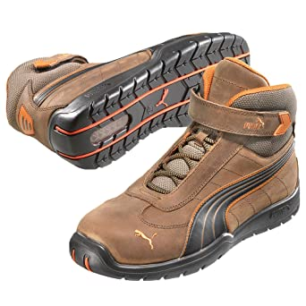 6b51635e09 Puma 632180.39 Indy Chaussures de sécurité Mid S3 HRO SRC Taille 39 ...