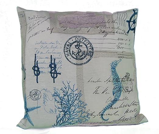 Funda de almohada de 40 x 40 cm Diseño de - Maritimes y ...