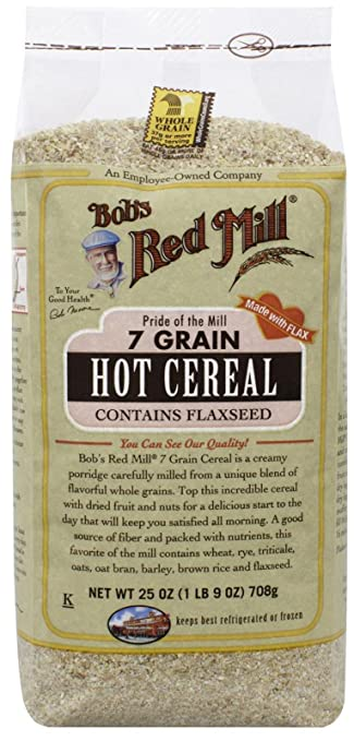 Amazon bobs red mill 7 grain cereal 25 ounce oatmeal bobs red mill 7 grain cereal 25 ounce ccuart Gallery