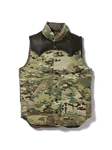 Down Vest 11-06-0529-398: Camouflage
