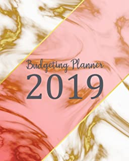 budgeting planner 2019 daily weekly monthly calendar expense