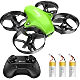 Potensic Upgraded A20 Mini Drone Easy to Fly Drone for Kids and Beginners, RC Helicopter Quadcopter with Auto Hovering, Headl