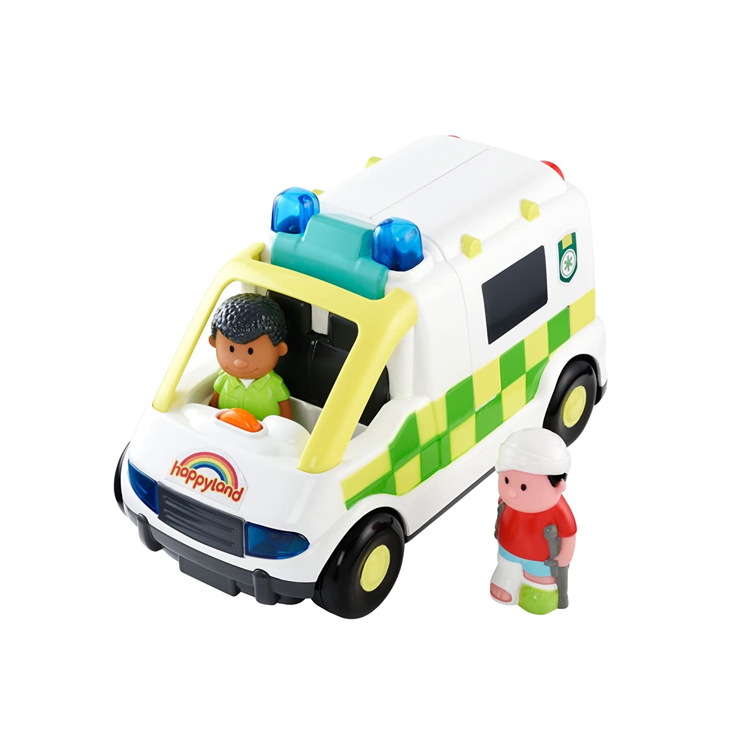 Early Learning Centre 145015 Happyland Lights and Sounds Ambulance