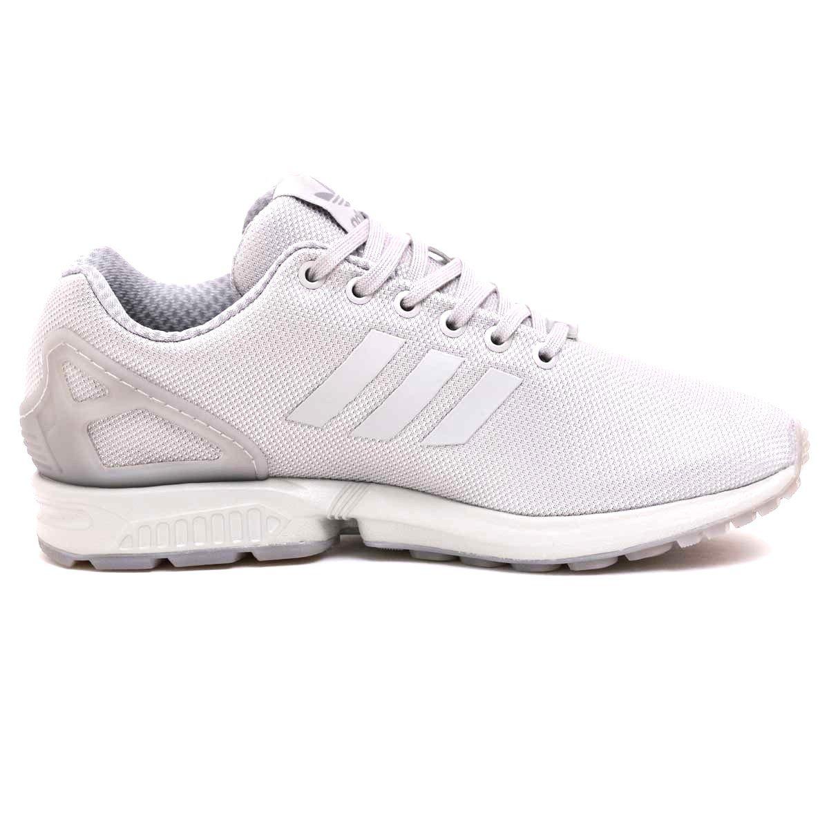 competitive price 3a420 c197e adidas Originals Men's ZX Flux Running Shoe (10.5, Grey/Grey/Grey)