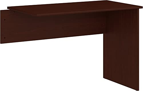 Bush Furniture Cabot 42W Shell Desk Return in Harvest Cherry