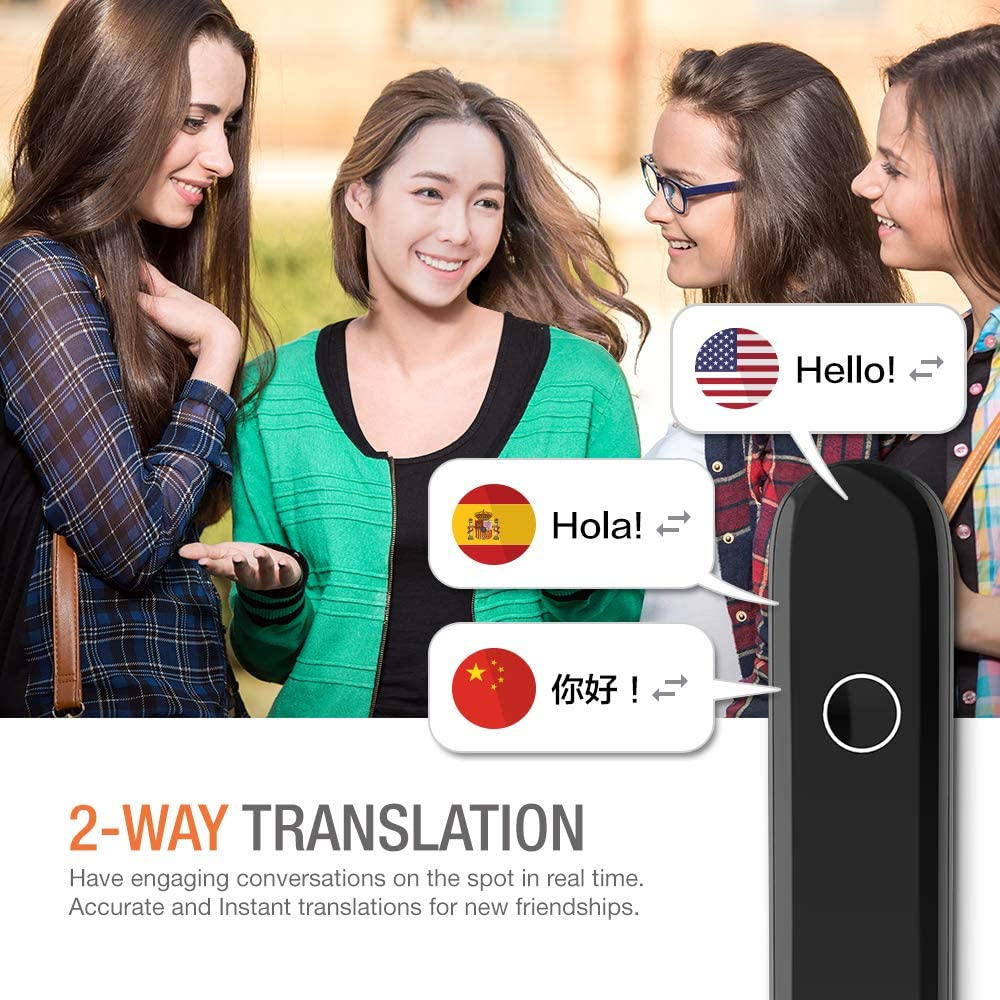 CM Smart Instant Language Translator Device
