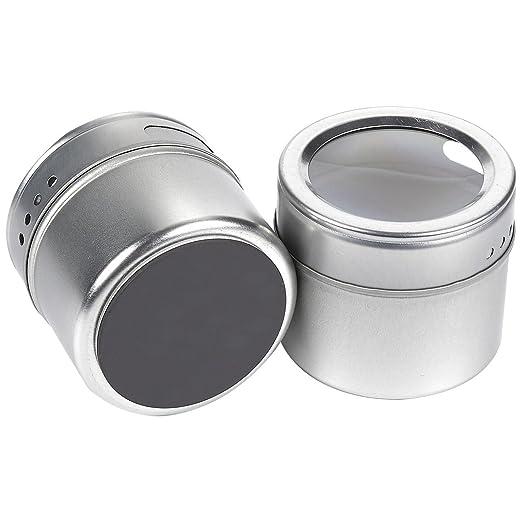 Amazon.com: Juvale - Lote de 20 recipientes magnéticos para ...