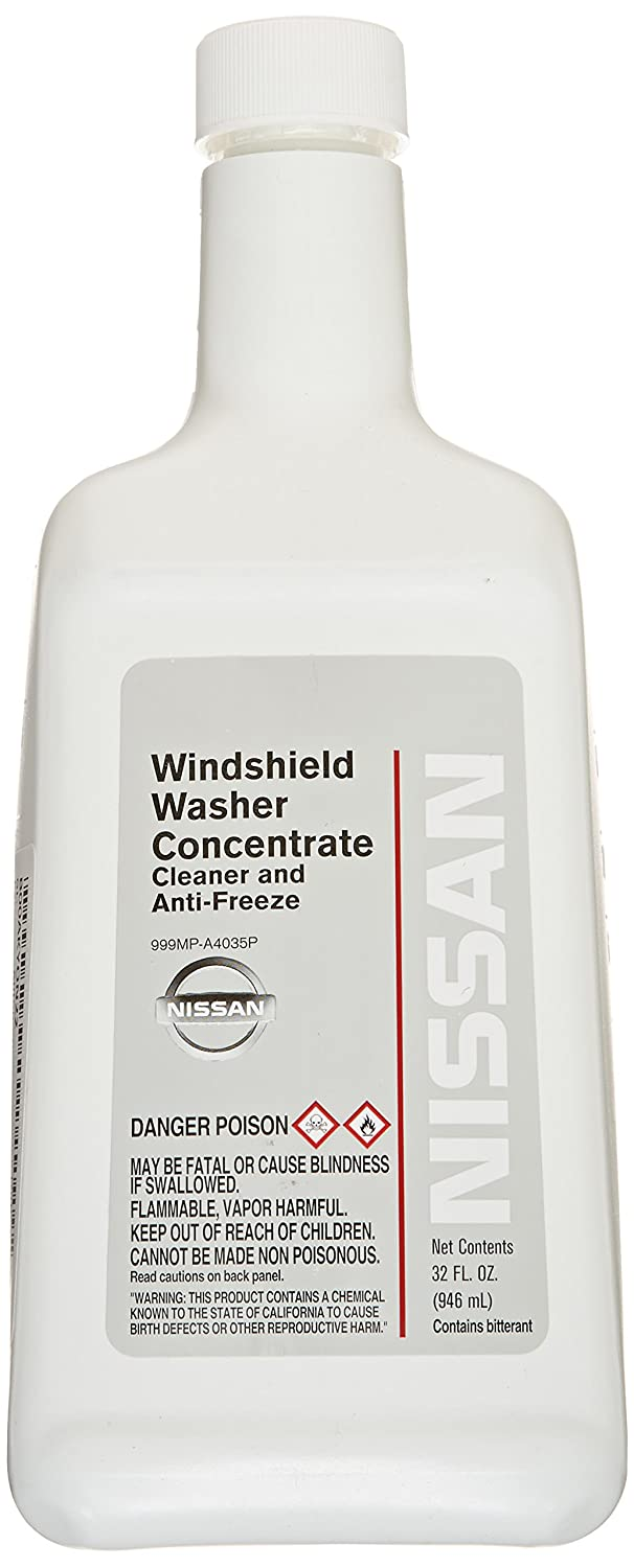 Genuine Nissan Fluid 999MP-A4035P Windshield Washer Concentrate - 32 oz.
