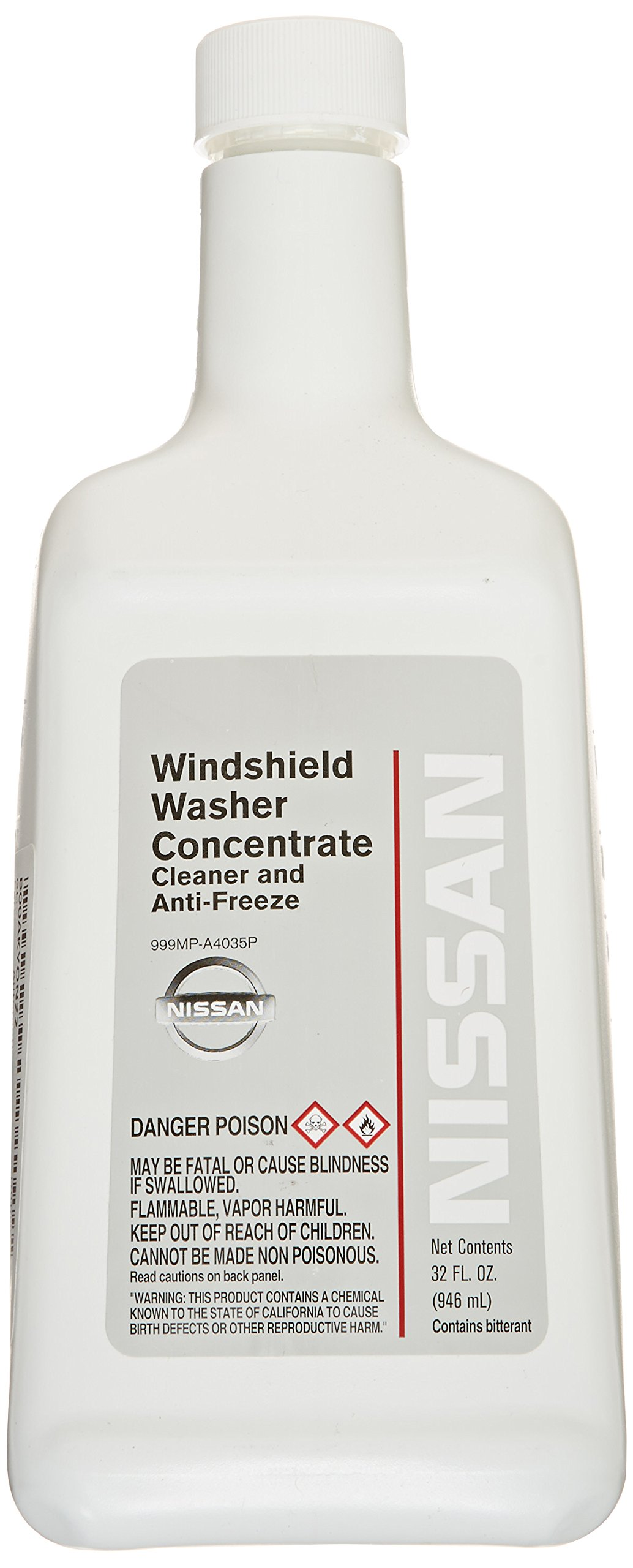 Genuine Nissan Fluid 999MP-A4035P Windshield Washer Concentrate - 32 oz. by Nissan