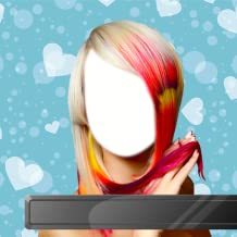 Color Hairstyle Photo Montage