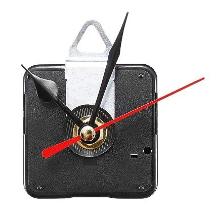 Kopper™ Quartz Silent Clock Movement Mechanism Module DIY Kit Hour Minute Second Hand Red