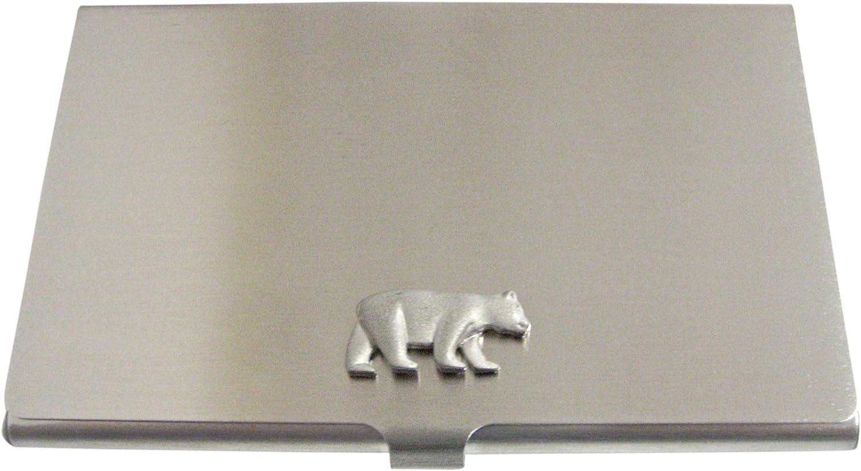 Matte Bear Business Card Holder