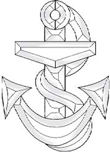 Stained Glass Supplies Clear Glass Anchor Bevel