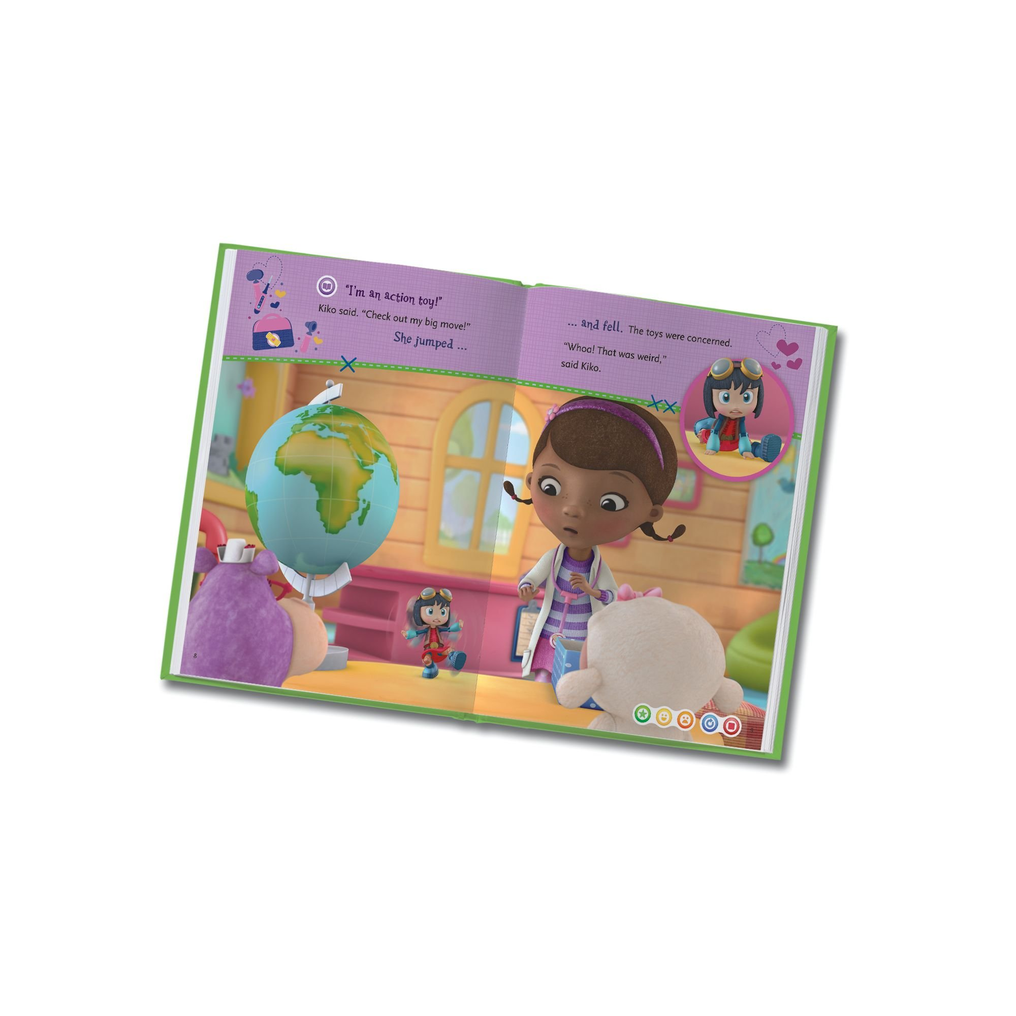 LeapFrog LeapReader: Disney Doc McStuffins: The New Girl Read On Your Own Book works with Tag by LeapFrog (Image #4)