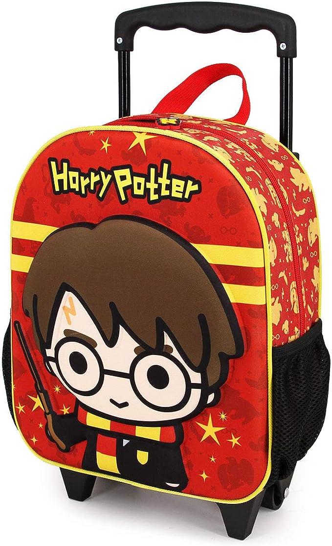 Karactermania Harry Potter Quidditch Mochila 3D Multicolor Peque/ña