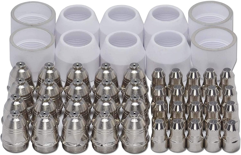 P-80 Plasma Cutting Torch Consumables KIT Plasma Tip 1.5 100Amp 50pcs