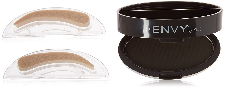 Kiss i-envy brow stamp kit ebony Makeup, 1 Count