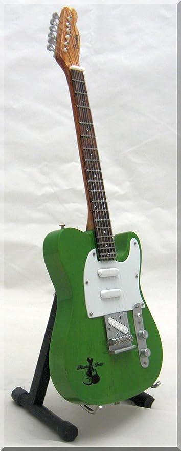 FRANCIS ROSSI Miniatura Guitarra STATUS QUO Fender Telecaster ...