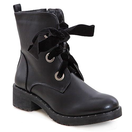 Calzature & Accessori neri con stringhe per donna TooCool 2pEKyez3h