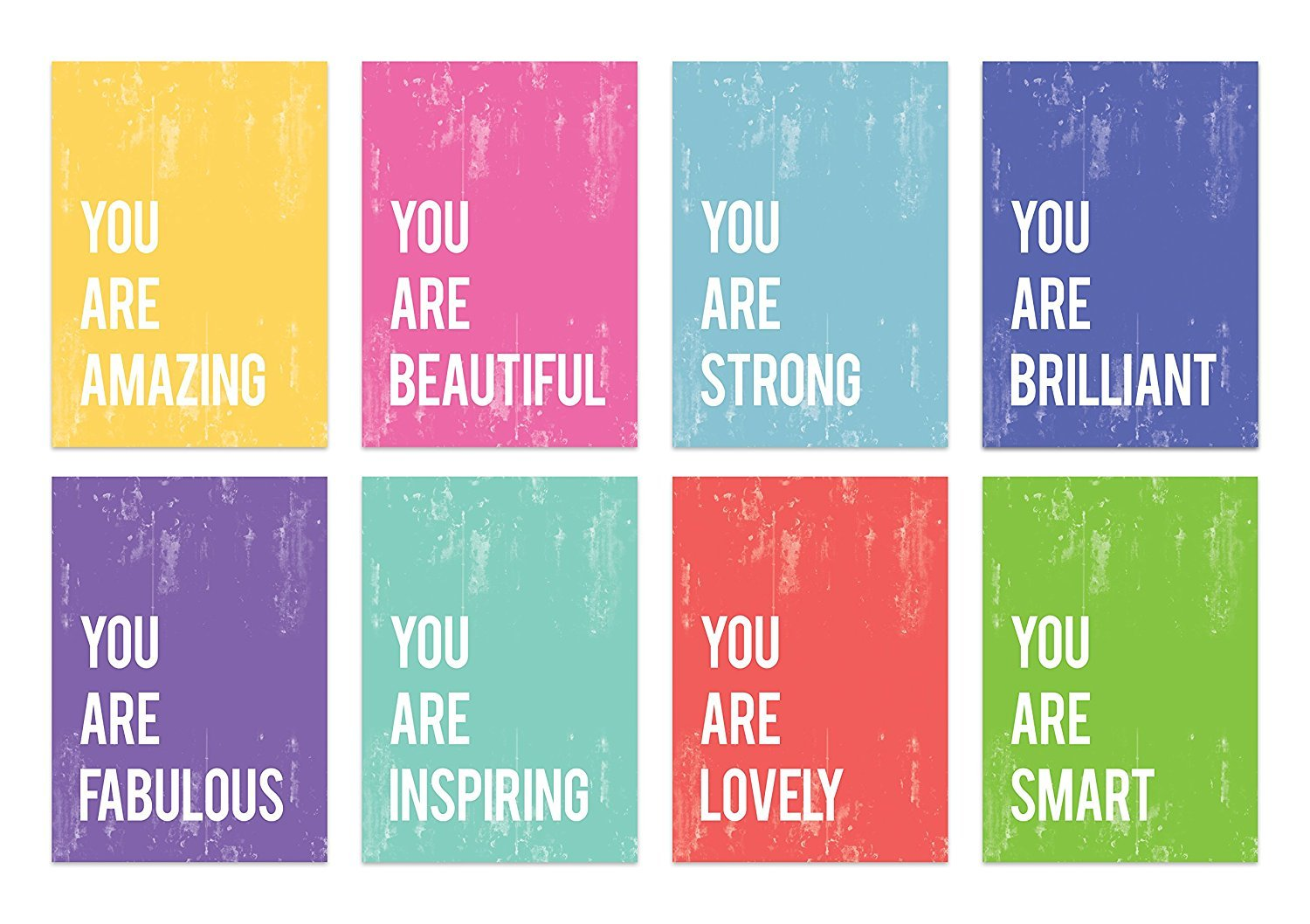 You are Mini Collection 5x7 Wall Art Prints, Typography, Nursery Decor, Kid's Wall Art Print, Kid's Room Decor, Gender Neutral, Motivational Word Art, Inspirational Artwork for Kids, Baby Room Decor
