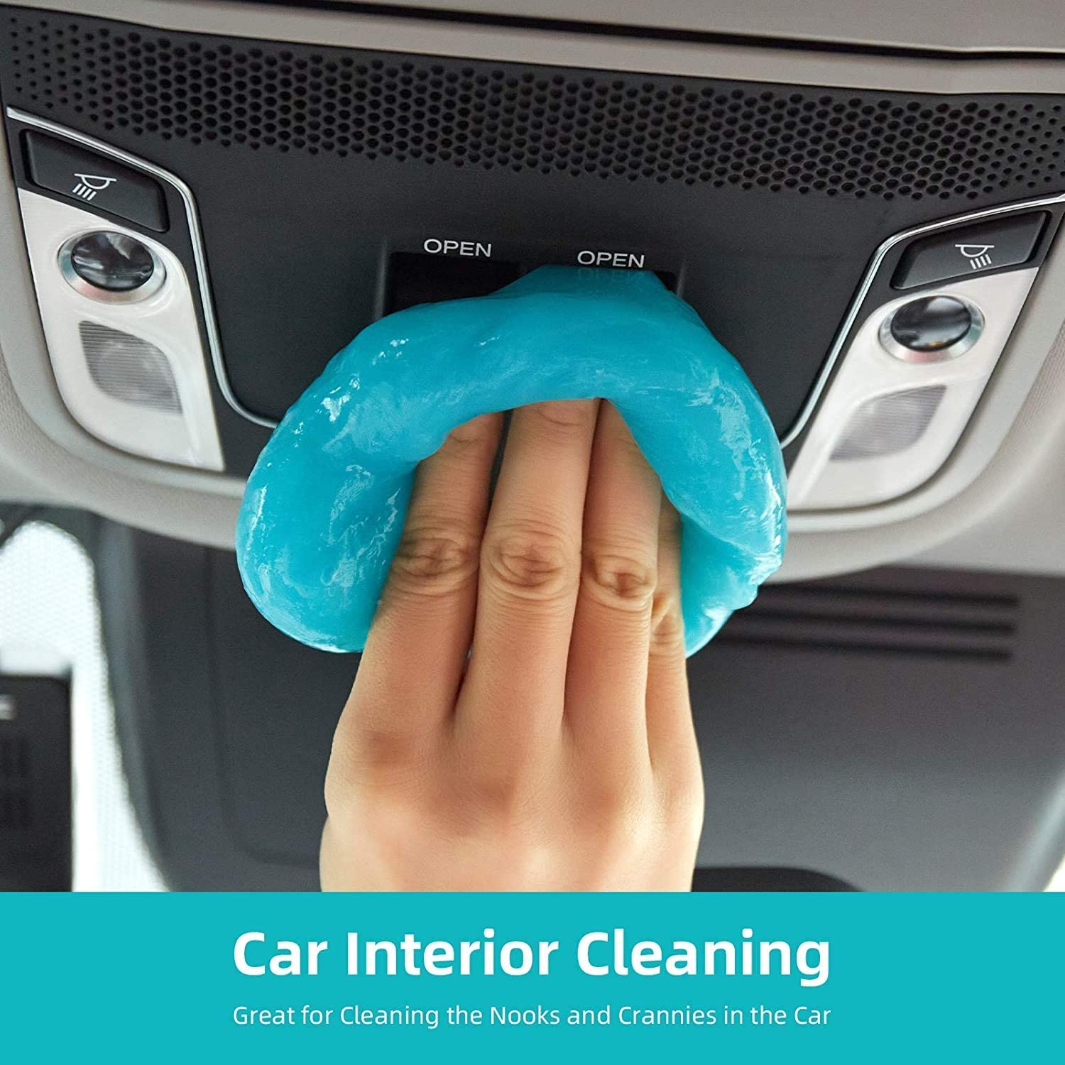 XBRN Cleaning Gel for Car Detailing Putty Cleaning Putty Detailing Gel Detail Tools Car Interior Cleaner Universal Dust Removal Gel Vent Cleaner Keyboard Cleaner for Laptop,Car Vents: Automotive