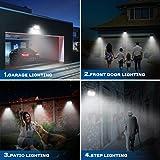 Esenvis Solar Lights Outdoor, Solar Motion Sensor