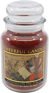 A Cheerful Giver Evenings on The Porch 24 Oz Cheerful Jar Candle