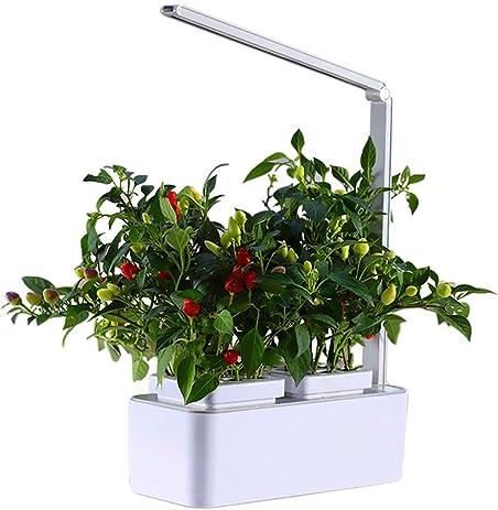 Amazon.com: Smart Hydroponics Indoor Herb Garden Kit Mini Plant ...