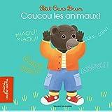 Petit Ours Brun mini cache-cache - Coucou les animaux !