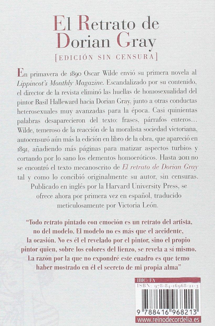 El Retrato De Dorian Gray Próxima Aparición Oscar Wilde