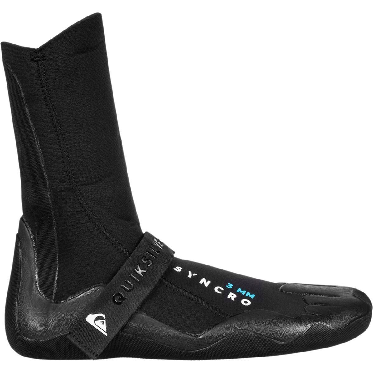 Quiksilver 3mm Syncro Round Toe Men's Watersports Boots - Black / 8 by Quiksilver