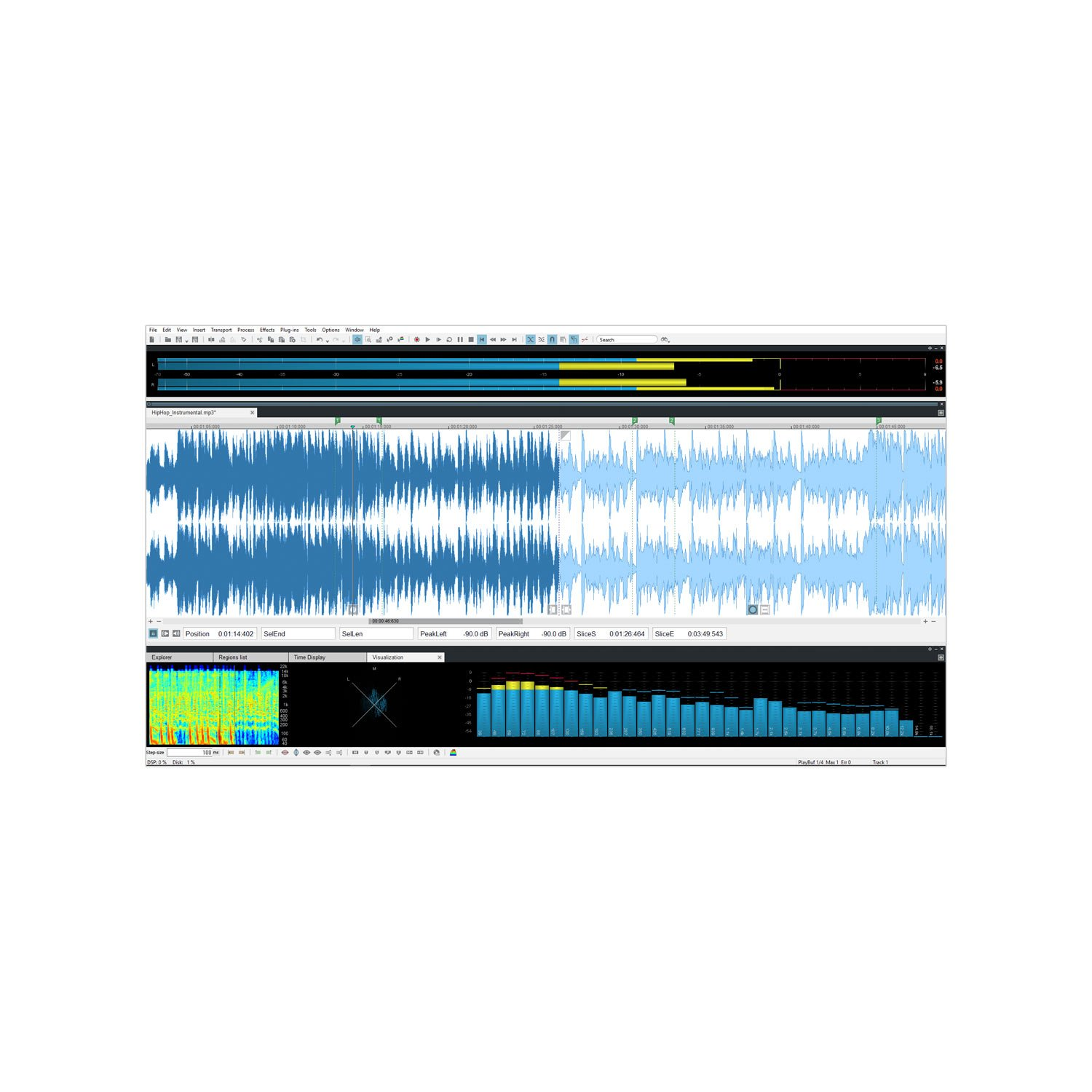 SOUND FORGE Audio Studio - Version 12 - audio editor including mastering plug-in by Sound Forge (Image #4)