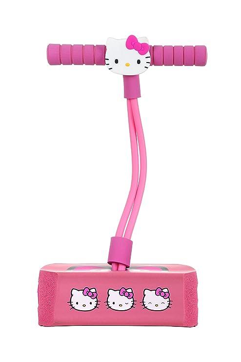 bb871f2ac6a7 Flybar Hello Kitty Jump and Squeak Foam Pogo Jumper by Fun   Safe Foam  Bungee Pogo